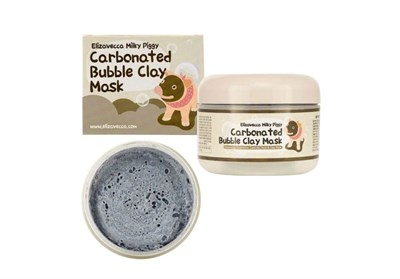 Маска для лица Elizavecca Milky Piggy Carbonated Bubble Clay Mask 100 г - фото 4564