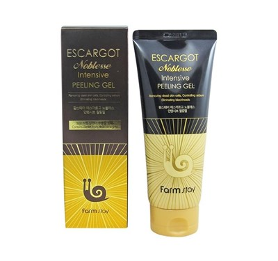 Пилинг для лица Farm Stay Escargot Noblesse Intensive Peeling Gel 180 мл - фото 4635