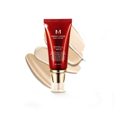 BB крем MISSHA M Perfect Cover BB Cream 21 Light Beige 50 мл - фото 4660