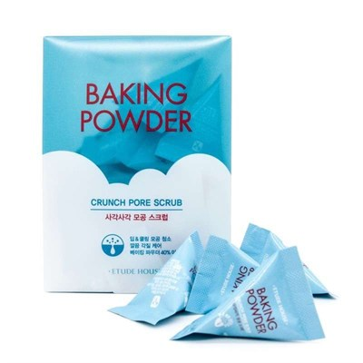 Скраб для лица Etude House Baking Powder Crunch Pore Scrub 24*7 г - фото 4666