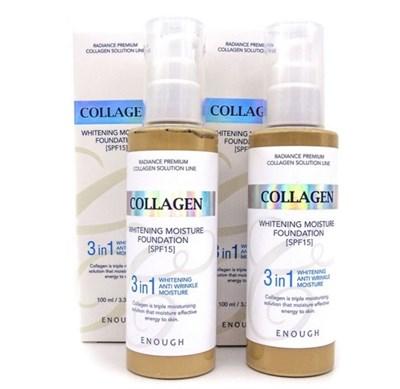 Collagen WHITENING MOISTURE FOUNDATION 3 IN 1 - тон 21 - фото 4685