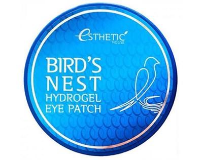 Патчи для глаз Esthetic House Bird's Nest Hydrogel Eye Patch 60 шт - фото 4687
