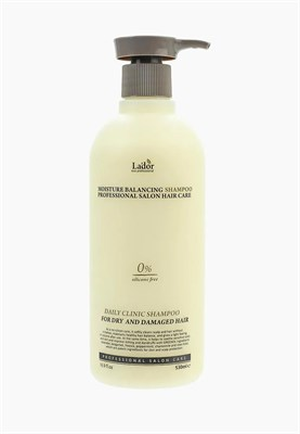 Шампунь La'dor Moisture Balancing Shampoo 530 мл - фото 4723