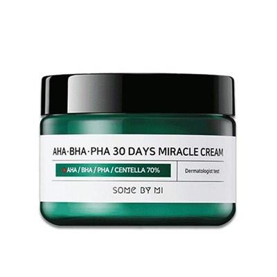 Крем для лица для проблемной кожи Some By Mi AHA-BHA-PHA 30 Days Miracle Cream - фото 4732