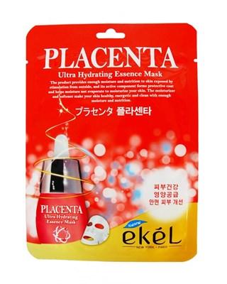 Маска с плацентой Ekel Placenta Ultra Hydrating Essense Mask - фото 4744