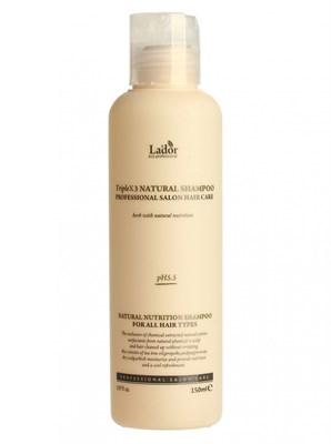 Травяной шампунь Lador Triple x3 Natural Shampoo 150 ml - фото 4784