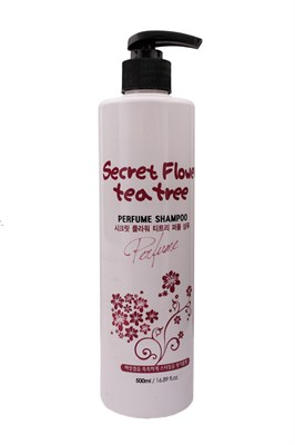 Шампунь для волос BOSNIC Secret Flower Teatree Perfume Shampoo 500 мл - фото 4860