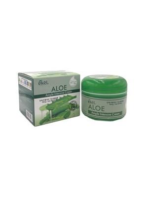 Крем для лица Ekel Aloe Ample Intensive Cream с экстрактом алоэ - фото 4862