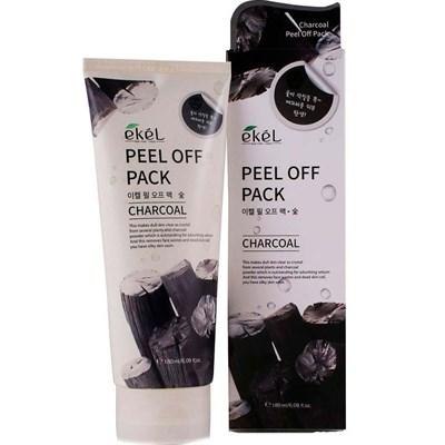 Пилинг с углем Ekel Natural Clean Peeling Gel Charcoal 180 мл - фото 4866