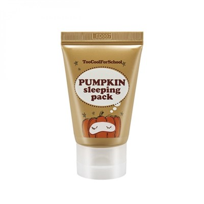 Ночная маска с экстрактом тыквы Too Cool for school pumpkin sleeping pack mini 30 мл - фото 4877