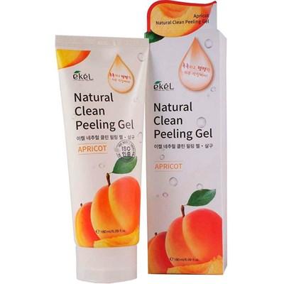 Пилинг-скатка с экстрактом абрикоса Ekel Apricot Natural Clean Peeling Gel 180 мл - фото 4918