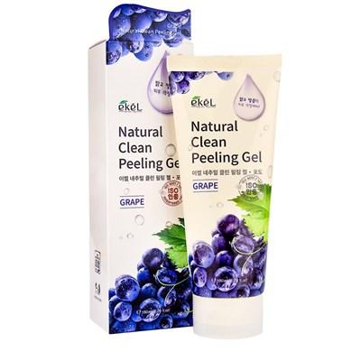 Пилинг с экстрактом винограда Ekel Natural Clean Peeling Gel Grape 180 мл - фото 4919