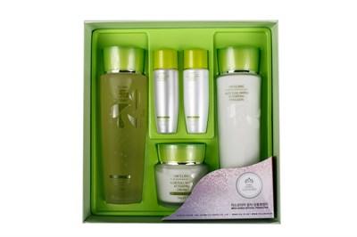 НАБОР для лица 3W CLINIC Aloe Full Water Activating Skin 3 Kit Set - фото 4956