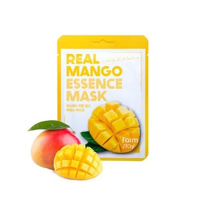 Тканевая маска с манго Farm Stay Real Mango Essence Mask