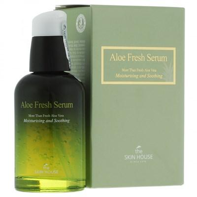 Увлажняющая и успокаивающая сыворотка с экстрактом алоэ The Skin House Aloe Fresh Serum