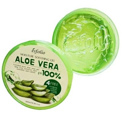 Увлажняющий гель с алоэ Esfolio Moisture Soothing Gel Aloe Vera 100% Purity - фото 5105