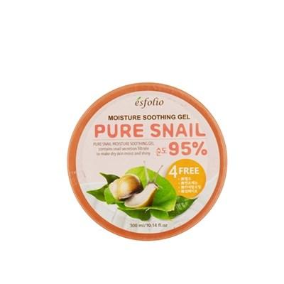 Увлажняющий улиточный гель Esfolio Moisture Soothing Gel Pure Snail 95% - фото 5106