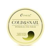 Патчи для глаз Esthetic House Gold & Snail Hydrogel Eye Patch 60 шт