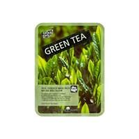 Тканевая маска с экстрактом зелёного чая May Island Real essence Mask Green Tea