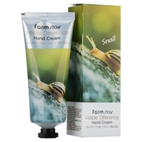Крем для рук Farm Stay Visible Difference Hand Cream Snail 100 мл