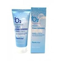 Кислородная пенка для очищения кожи Farm Stay O2 Premium Aqua Foam Cleansing