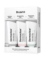 DR.JART DERMACLEAR TRANS-FOAM CLAY MASK (3 in 1) Набор глиняных масок 3 * 50 мл.
