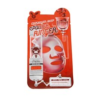 Тканевая маска для лица с Коллагеном Elizavecca COLLAGEN DEEP POWER Ringer mask pack