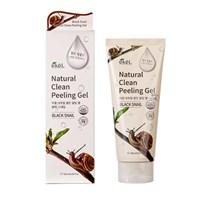 Пилинг-скатка для лица с экстрактом муцина черной улитки EKEL NATURAL CLEAN Peeling Gel Black Snail 180 мл