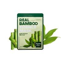 Тканевая маска с экстрактом бамбука Farm Stay Real Bamboo Essence Mask