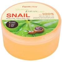 Успокаивающий гель c муцином улитки Farm Stay Snail Moisture Soothing Gel
