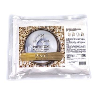 Альгинатная маска премиум класса с жемчугом May Island Premium Modeling Mask Pearl - фото 4530