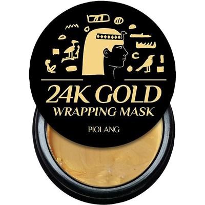 Маска для лица Esthetic House Piolang 24K Gold Wrapping Mask 80 мл - фото 4558