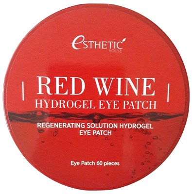 Патчи для глаз Esthetic House Red Wine Hydrogel Eye Patch 60 шт - фото 4561