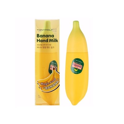 Крем для рук Tony Moly Magic Food Banana Hand Milk 45 мл - фото 4588