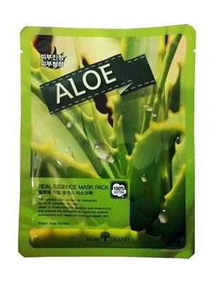 Маска для лица с Алоэ / May Island Real essence Mask Aloe - фото 4606