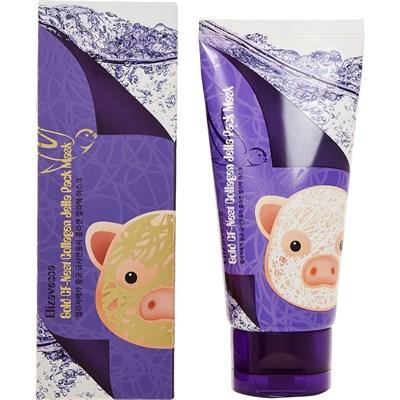 Маска для лица Elizavecca Gold Cf-Nest Collagen Jella Pack Mask 80 мл - фото 4622