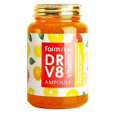 Сыворотка с витаминным комплексом FarmStay DR-V8 VITAMIN AMPOULE 250 мл - фото 4632