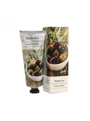 Farm Stay VISIBLE DIFFERENCE HAND CREAM OLIVE 100 мл Крем для рук - фото 4638