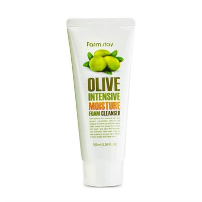 Пенка для лица Farm Stay Olive Intensive Moisture Form Cleanser - фото 4640