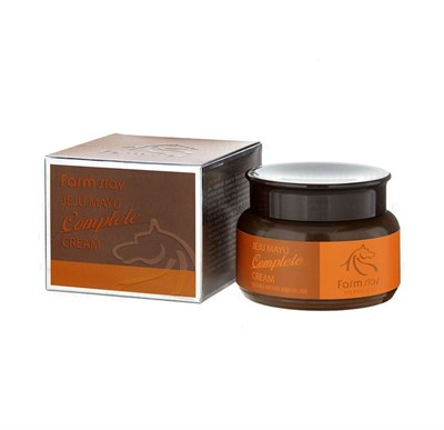 Farm Stay Jeju Mayu Complete Cream — Крем для лица с лошадиным маслом для сухой кожи, 100гр - фото 4642