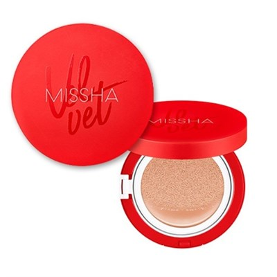 Missha Velvet Finish Cushion SPF 50+/PA+++ - фото 4658