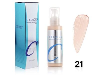 Тональный крем Enough Collagen Moisture Foundation (легкий, флюид), SPF 15, 100 ml, тон 21 - фото 4662