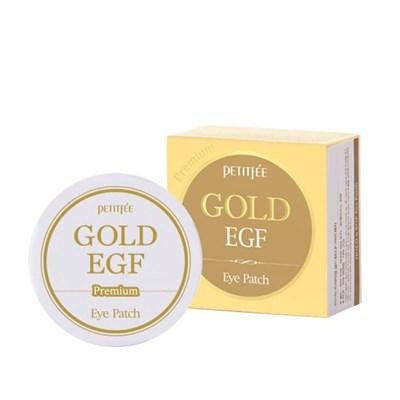 Гидрогелевые патчи Petitfee Premium Gold & EGF Hydrogel Eye Patch - фото 4683