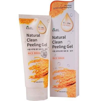 Пилинг с экстрактом коричневого риса / Ekel Natural Clean Peeling Gel Rice Bran - фото 4689
