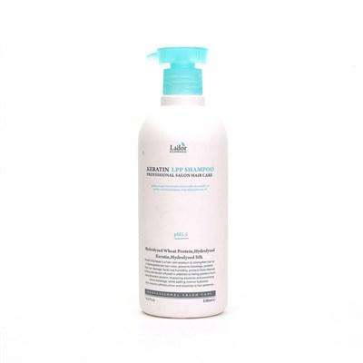 Бесщелочной шампунь с кератином / Lador Keratin LPP Shampoo 530 ml - фото 4730