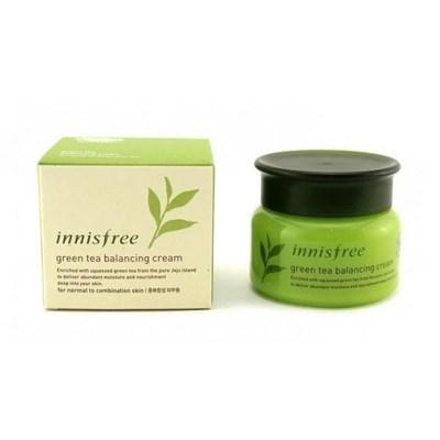 Крем для лица Innisfree Green Tea Balancing Cream - фото 4746
