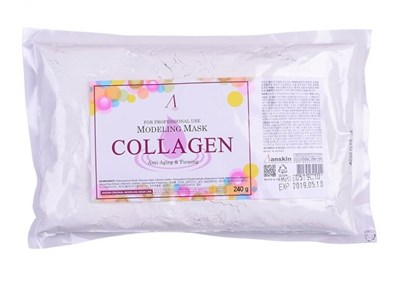 Anskin Original Collagen Modeling Mask Маска альгинатная с коллагеном укрепляющая, 240 г - фото 4750