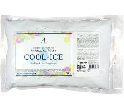 Маска альгинатная охлаждающая Anskin Original Cool-Ice Modeling Mask 240 г - фото 4752