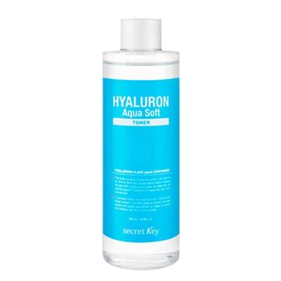 Тонер для лица Secret Key Hyaluron Aqua Soft Toner 500 ml - фото 4765