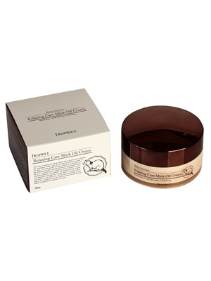 Крем для лица Deoproce Relaxing Care Mink Oil Cream - фото 4771